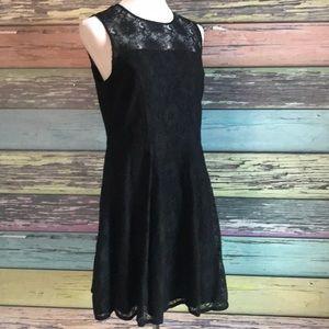 Banana Republic Black lace dress